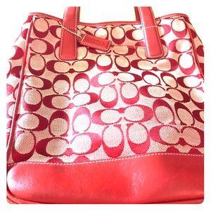 Used coach handbag